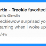 Faved by Treckie!