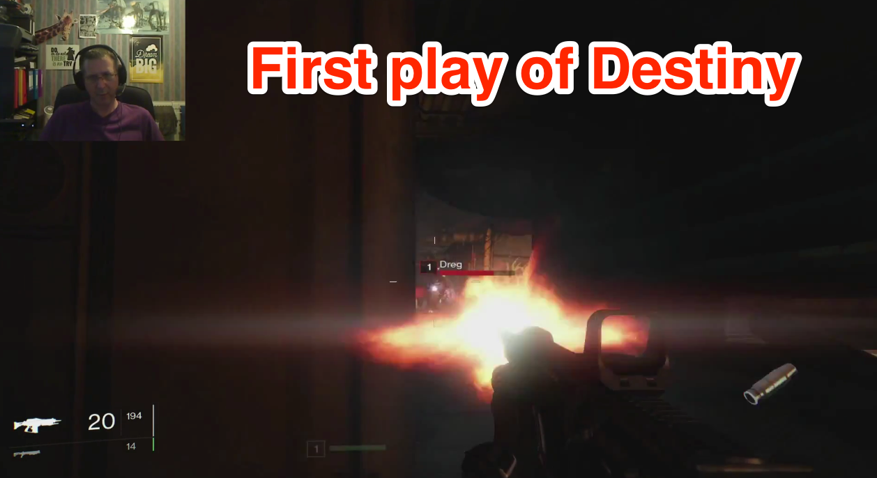 First Time on Destiny