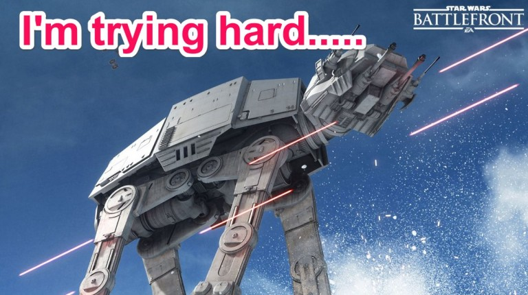 More Battlefront! – Blasters at the ready!