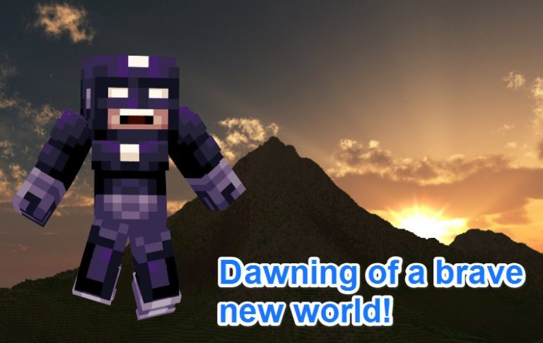 Starting again with Minecraft…