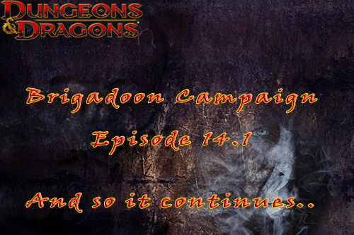Brigadoon Episode 14.1 and 14.2 – The Mystery of Maggot Manor