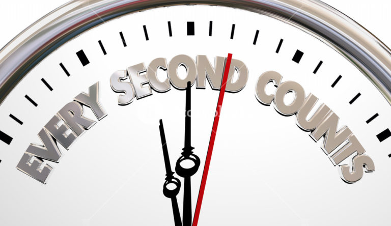 Making Every Second Count…