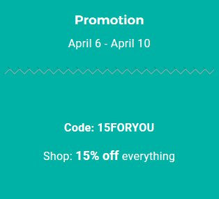 15% off at the Waffling Shop until 10th April 2018 – Click for Code