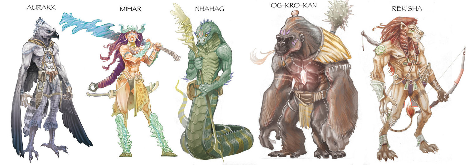 Examples of Races