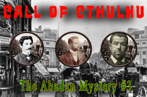 Call of Cthulhu – Leads are murdered and Friends get kidnapped