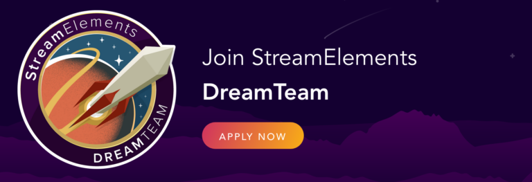 StreamElements – Joining their Dream Team