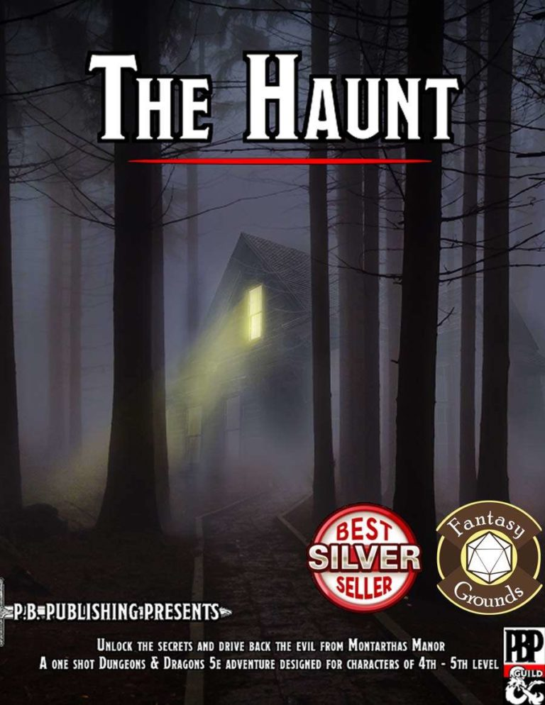 Haunted House – D&D 5e RPG Session!