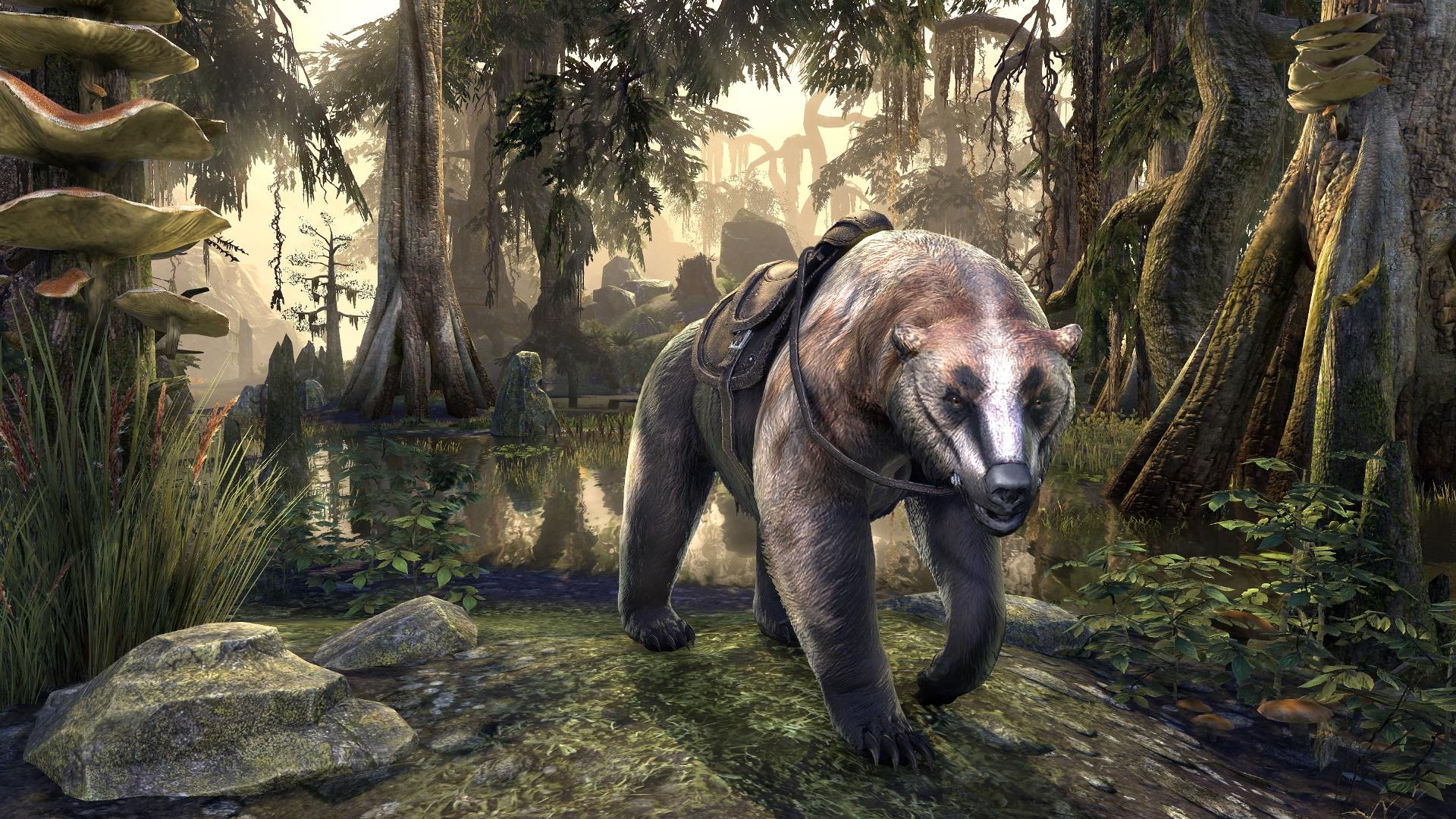 Badger Bear Mount
