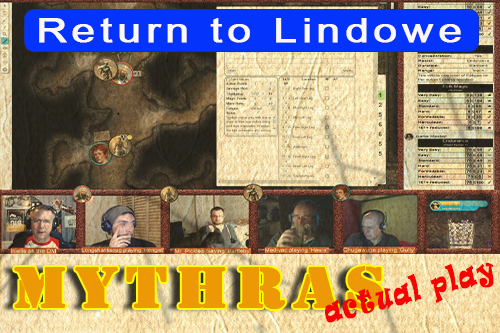 Mythras Actual Play: Returning to Lindowe