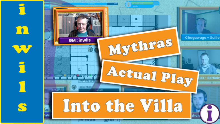 Mythras Actual Play: In the Villa of Lucius