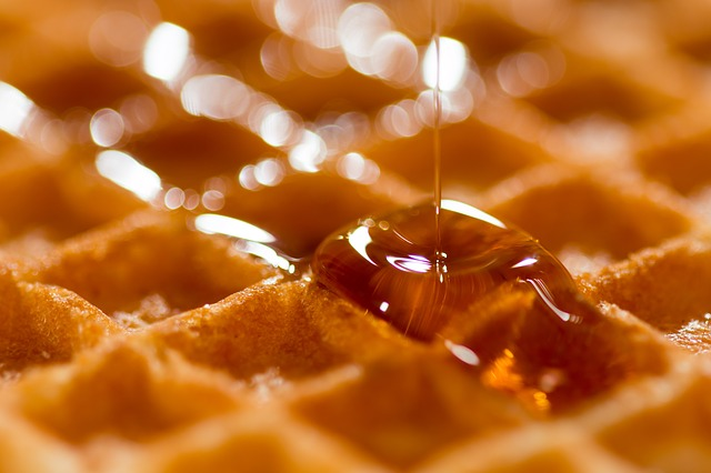Just a waffle!